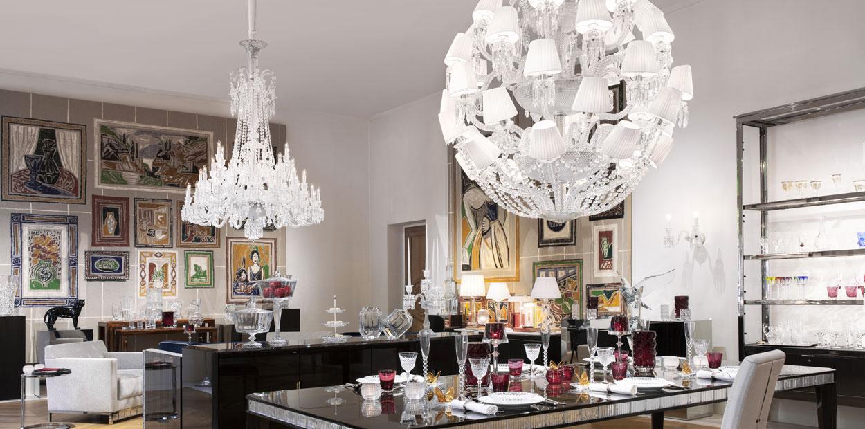 Maison Baccarat Paris, Moscou and Seoul details